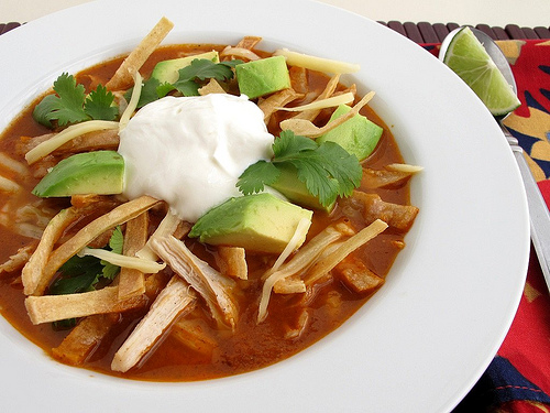 Sopa Azteca Carnes Chefscarnes Chefs